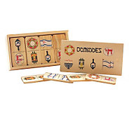 Copa Judaica Wood Jewish Dominoes - H155794