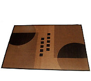 Geometrix Outdoor 100Polypropylene 5 x 8 Woven Rug - H162894