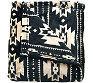 Berkshire Blanket 55x70 Velvet Soft Southwest Throw - H206394