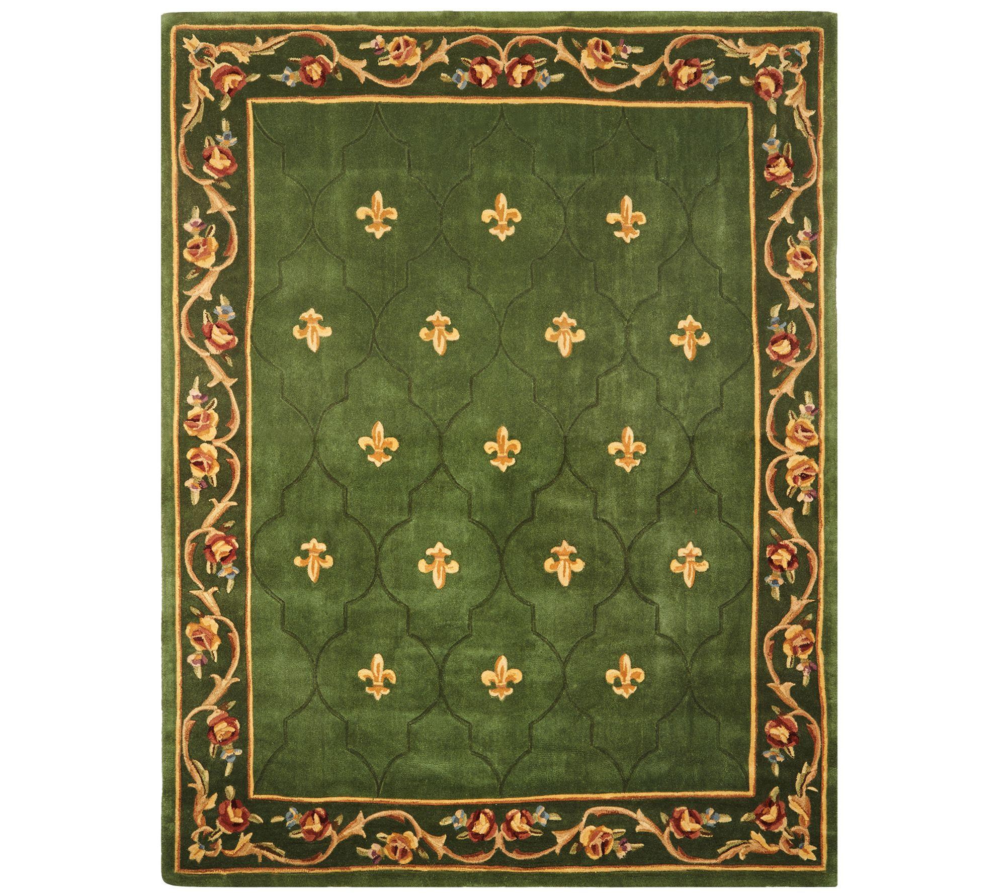 Royal Palace Special Edition 7'x9' Fleur De Lis Wool Rug