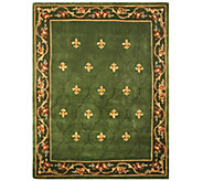 Royal Palace Special Edition 7x9 Fleur de Lis Wool Rug - H207294
