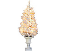 Bethlehem Lights Hudson Prelit 4 Urn Tree - H209494