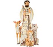 Jim Shore Heartwood Creek Woodland Saint Francis Figurine - H210794