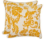 Safavieh Set of 2 18 x 18 Aubrey Pillows - H285394