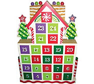 Gingerbread Advent Calendar by Santas Workshop - H288994