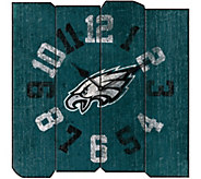 NFL Vintage Style Square Clock - H291794