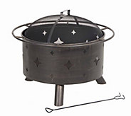 Lantana 30 Bronze Fire Pit - H294594