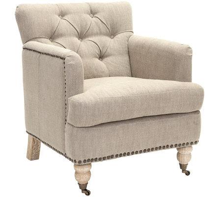 Colin Tufted Club Chair — QVC