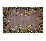 Royal Palace Lavender Garden Ultra Plush 82L 36 x 56 Rug - H119495