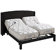 Sleep Number QSeries 6.1 SK Mattress Set w/ADAT & Adj Base - H205895