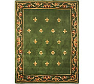 Royal Palace Special Edition 8x106 Fleur de Lis Wool Rug - H207295
