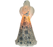 11 Illuminated Wax Holiday Angel by Candle Impressions - H208395