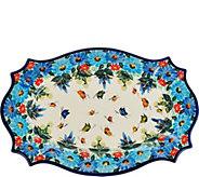 Lidias Polish Pottery Stoneware Cezar Platter - H208595