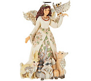 Jim Shore Heartwood Creek Woodland Spring Angel Figurine - H210795