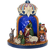 Jim Shore Heartwood Creek Illuminated Wise Men Hat Figurine - H211995