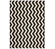 Safavieh 8 x 11 Vertical Zigzag Indoor/Outdoor Rug - H283095