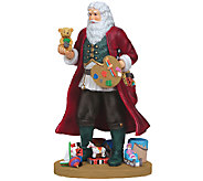Limited Edition Creative Santa Figurine by Pipka - H287595