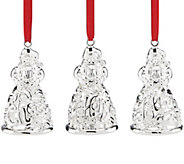 Lenox Set of 3 Santa Ornaments - H289295