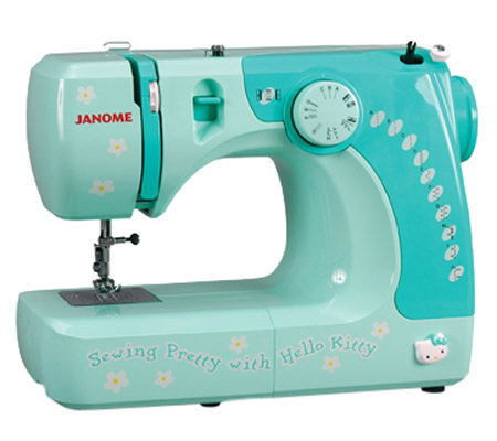 Janome Hello Kitty 11706 Sewing Machine  QVC