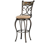 Hillsdale Furniture Pompei Swivel Bar Stool - H142396