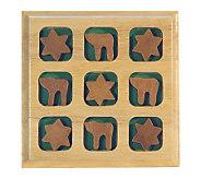 Copa Judaica Wood Jewish Tic Tac Toe - H155796