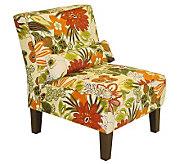 Skyline Furniture Armless Lilith Marigold Slipper Chair - H173696