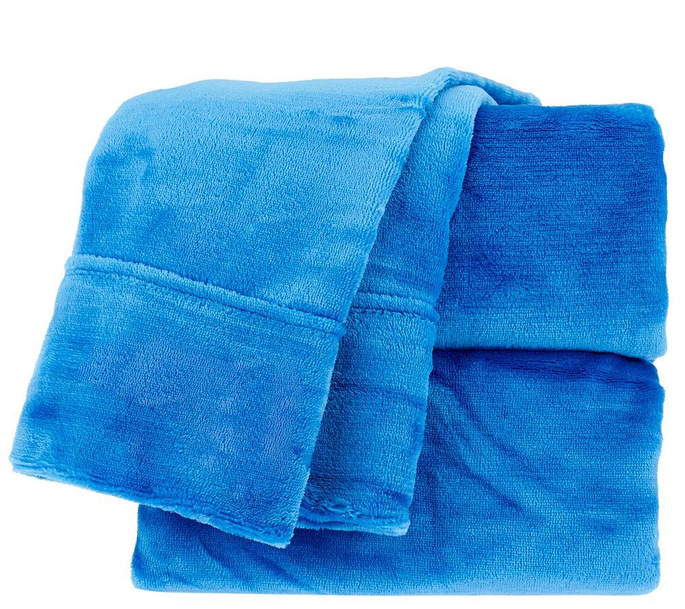 Berkshire Blanket Velvet Soft Twin Cozy Sheet Set Page 1