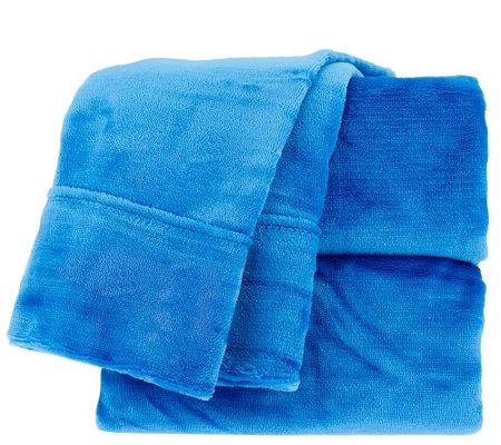 Berkshire Blanket Velvet Soft Twin Cozy Sheet Set