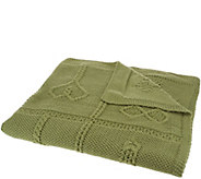 Kilronan Merino Wool Cross Patch Throw Blanket - H204596