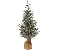 ED On Air 3 Tree in Burlap Base w/LED Lights by Ellen DeGeneres - H205996