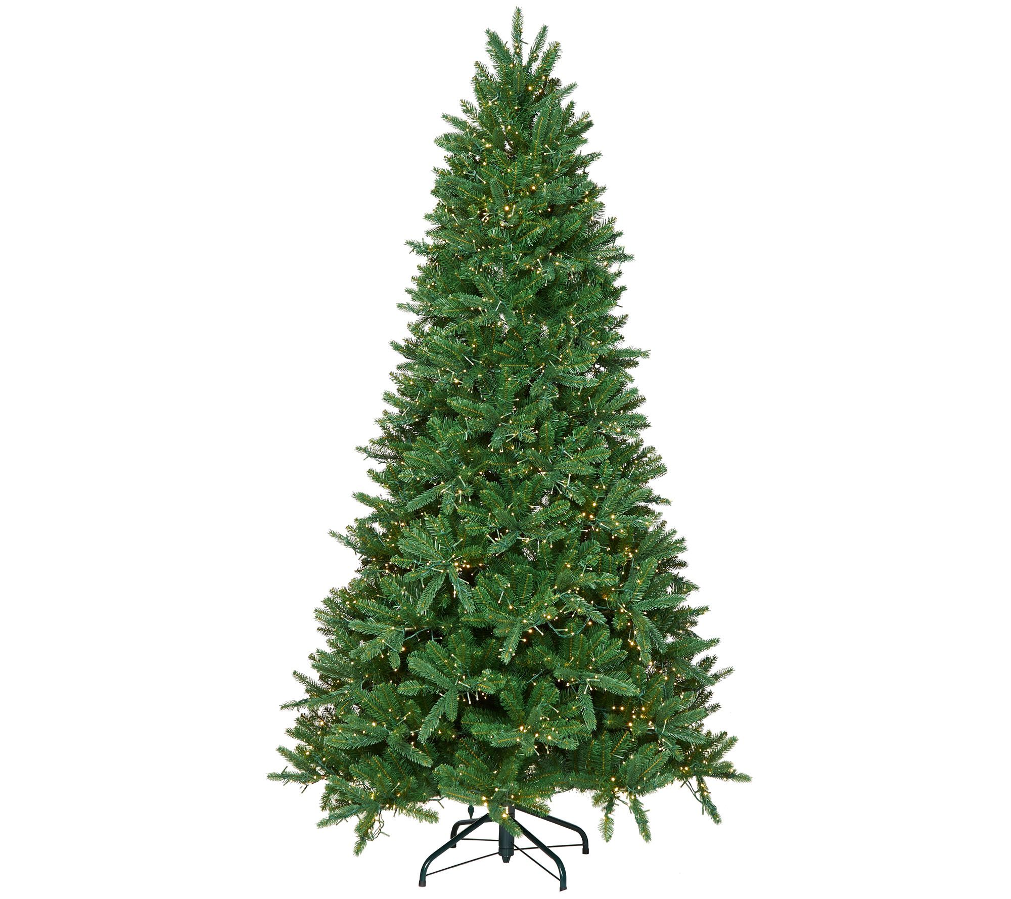 Santa's Best Starry Light Microlight Tree W/Color Flip LED