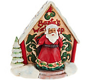 Jim Shore Heartwood Creek Mini Santas Workshop Figurines - H212496