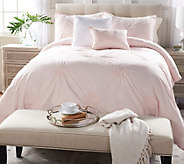 Casa Zeta-Jones Cotton Embroidered Queen Comforter Set - H214696