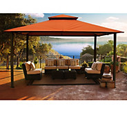STC Valencia Vented Gazebo w/All-Weather UV Sunbrella Canopy - H361596