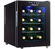 Danby Maitre D 12-Bottle Countertop Wine Cooler- Black - H362696