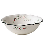 Pfaltzgraff Winterberry Large Ruffled Pasta Bowl - H184397