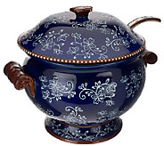 Temp-tations Floral Lace 3qt. Soup Tureen - H203497
