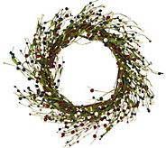 18 Americana Berry Wreath by Valerie - H210697
