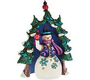 Jim Shore Heartwood Creek Mini Evergreen Snowman Figurines - H212497