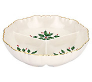 Lenox Holiday Archive Divided Condiment Server - H281797