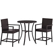 Palm Harbor 3-Piece Outdoor Wicker Bistro Set - H288597