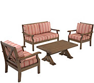 Plow & Hearth Claremont Love Seat Set - H289397