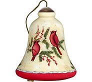 4.50 Good Tidings Cardinals Ornament by NeQwa - H294297