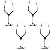Luigi Bormioli Set of 4 Atelier Riesling Glasses, 16oz - H364797