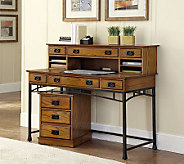 Home Styles Modern Craftsman Executive Desk - H366497