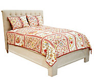 Classic Treasures Caldwell Twin 100Cotton Quilt - H198598