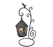 Indoor/Outdoor Hanging Lantern with Flameless Candle by Home Reflections - H207998