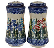 Lidias Polish Pottery Stoneware Salt & Pepper - H208598