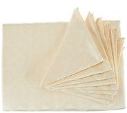 Lenox Laurel Leaf 70x104 Water Repel Table Cloth w/ 8 Napkins - H210998