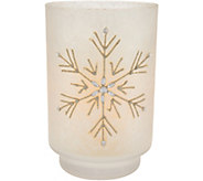 Candle Impressions Crystallized Flameless Large Vase - H212298
